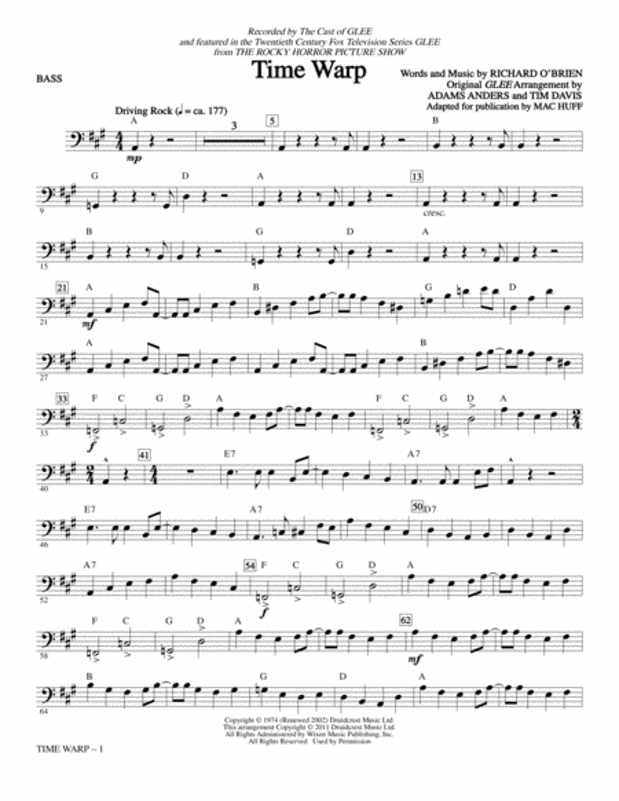 Time Warp - Bass