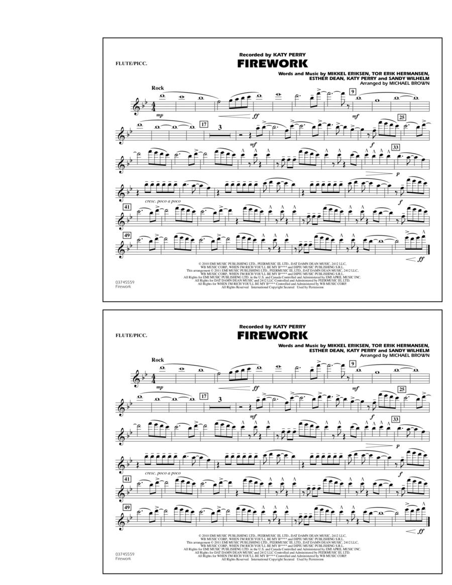 Firework - Flute/Piccolo