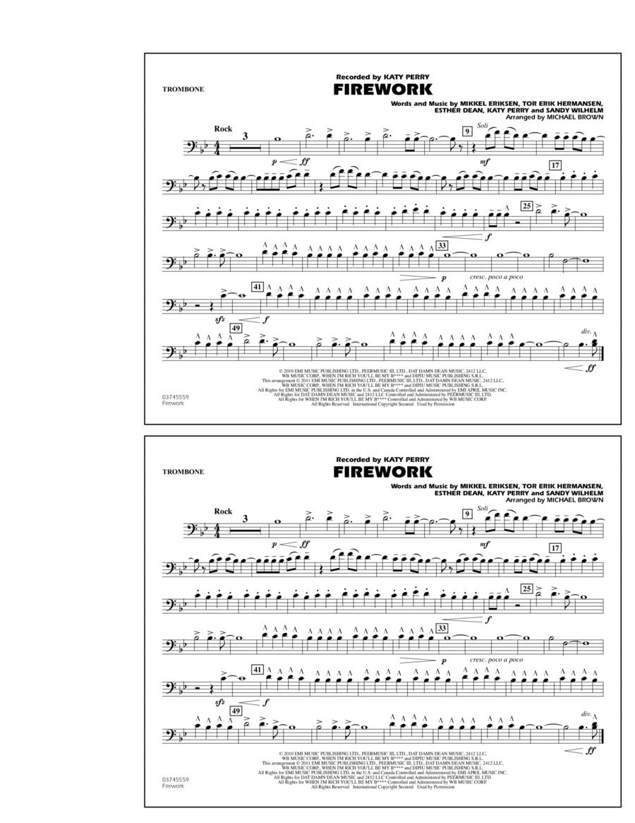 Firework - Trombone