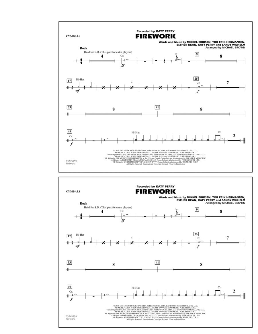 Firework - Cymbals