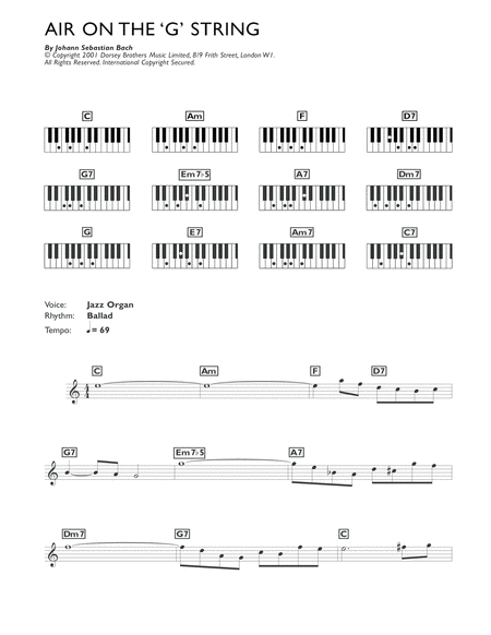 Air On The G String (from Suite No.3 in D Major)