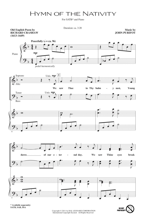Hymn Of The Nativity