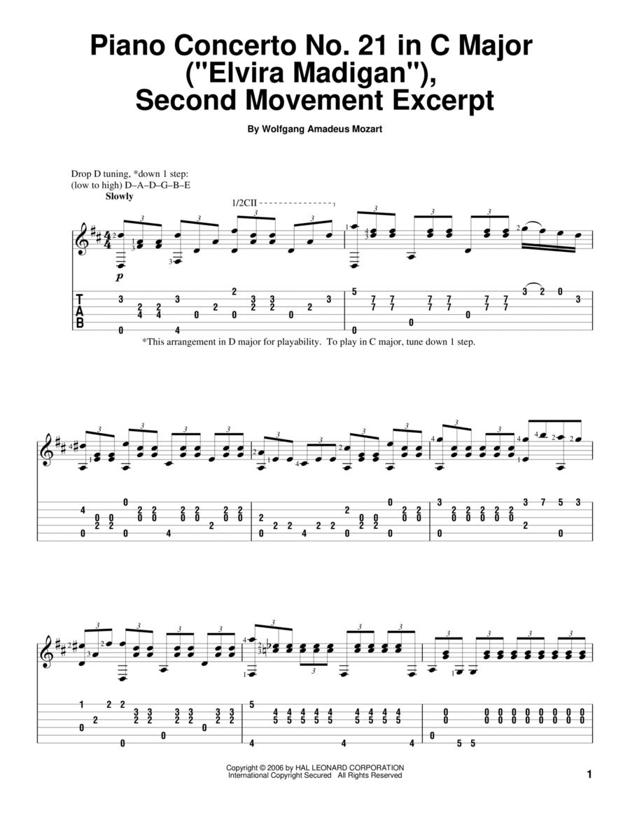 Piano Concerto No. 21 in C Major (