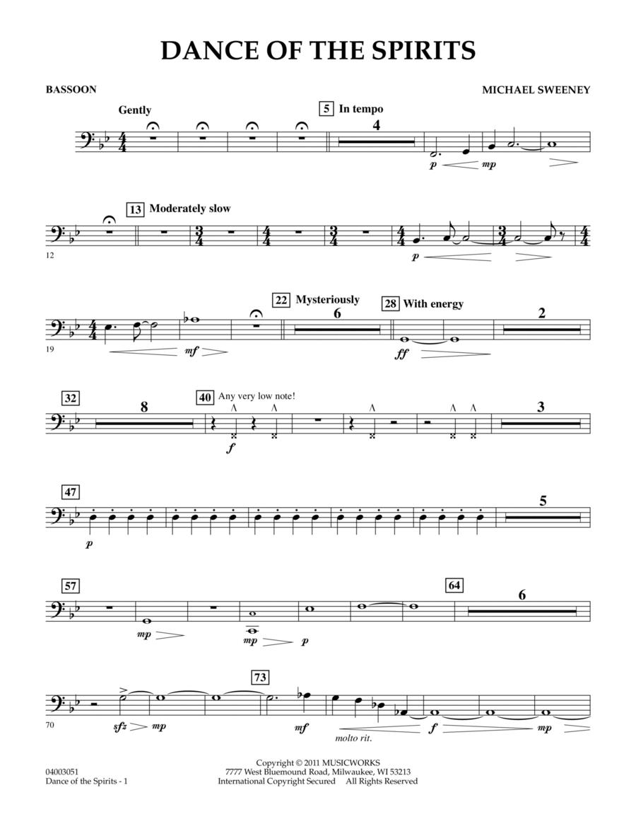 Dance Of The Spirits - Bassoon