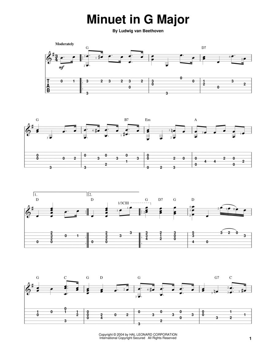 Minuet In G Major