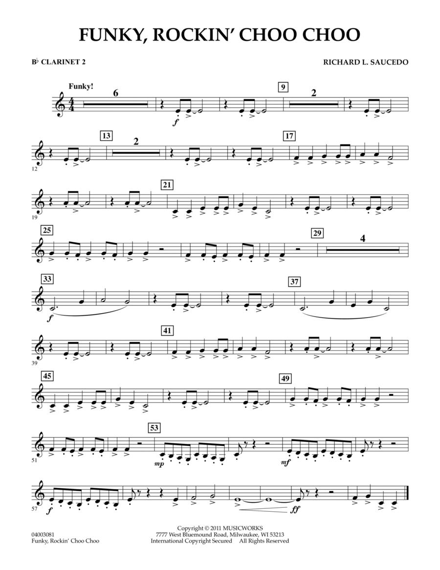 Funky, Rockin' Choo Choo - Bb Clarinet 2