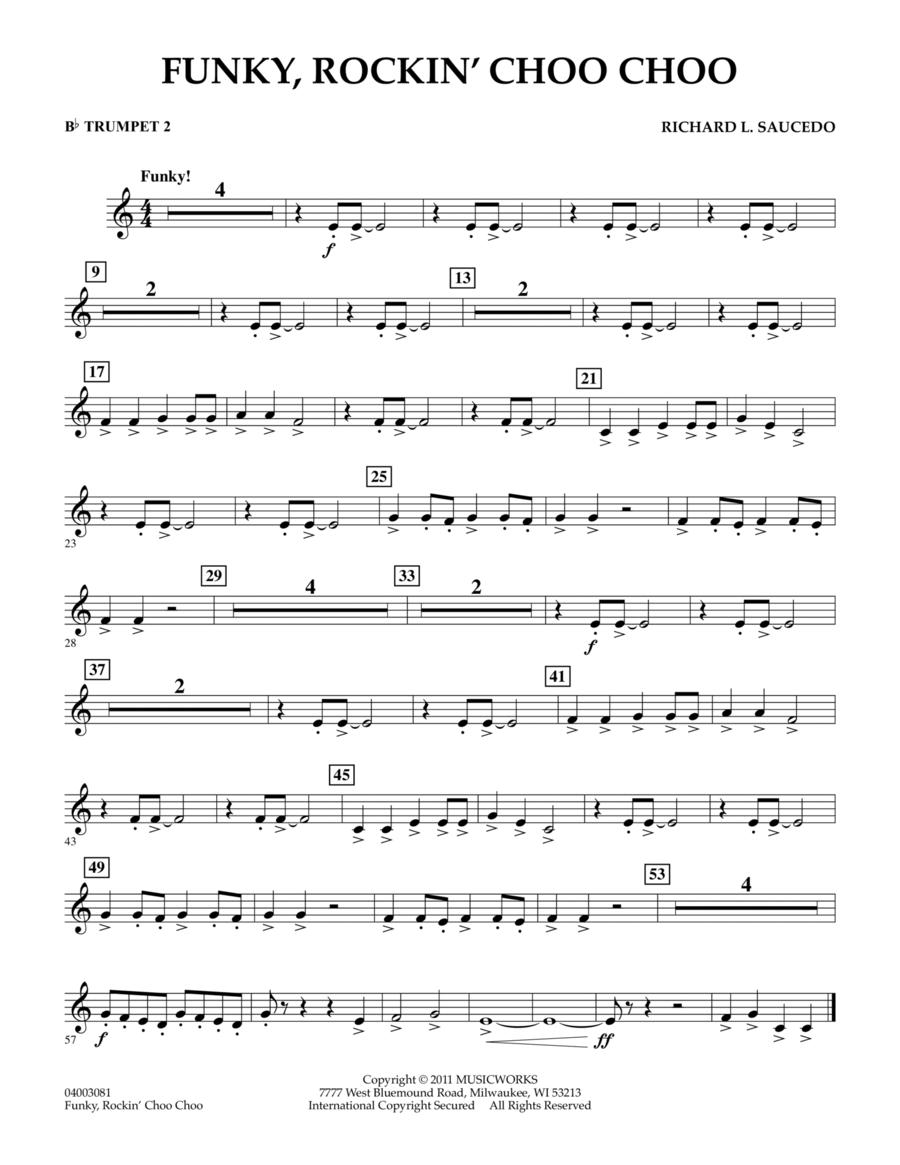 Funky, Rockin' Choo Choo - Bb Trumpet 2
