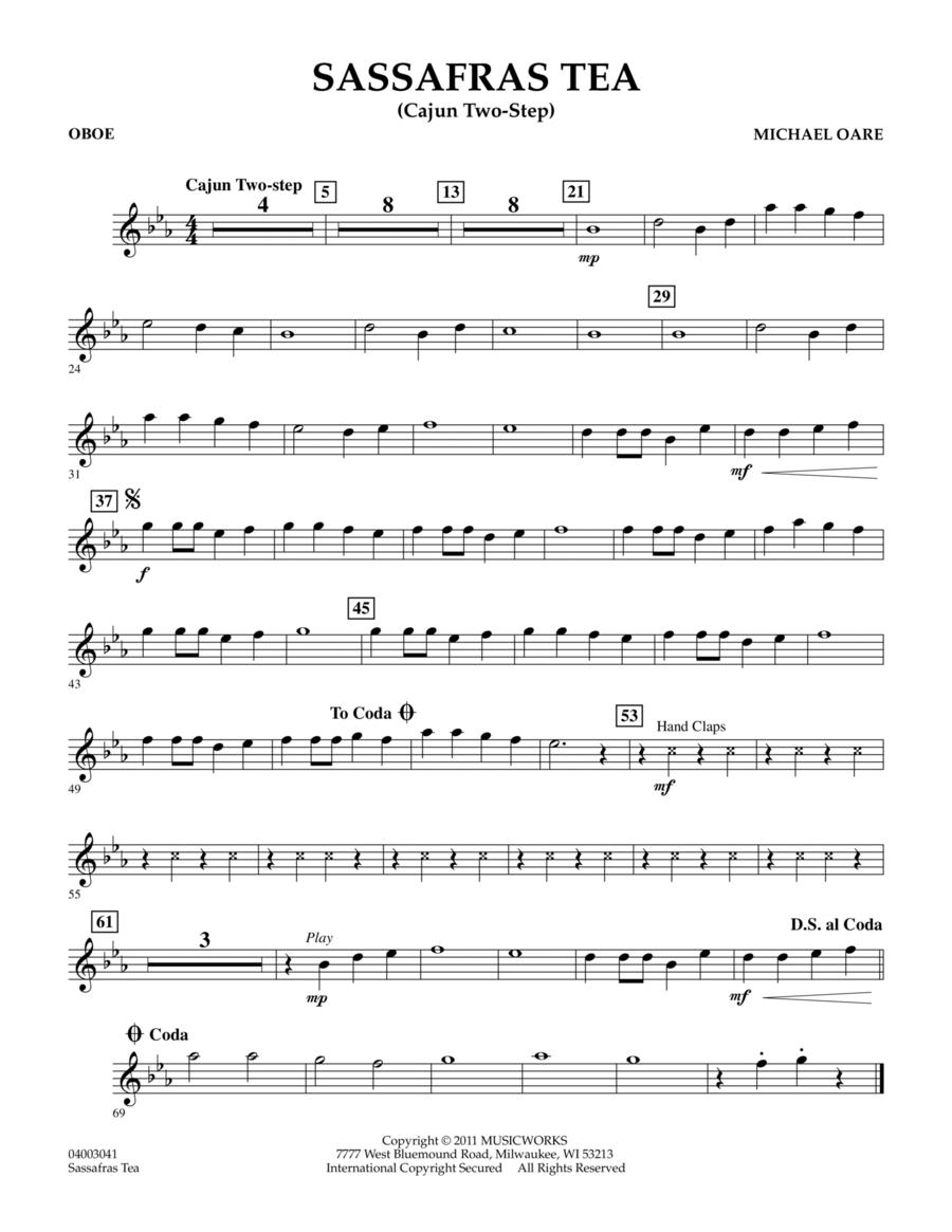 Sassafras Tea (Cajun Two-Step) - Oboe