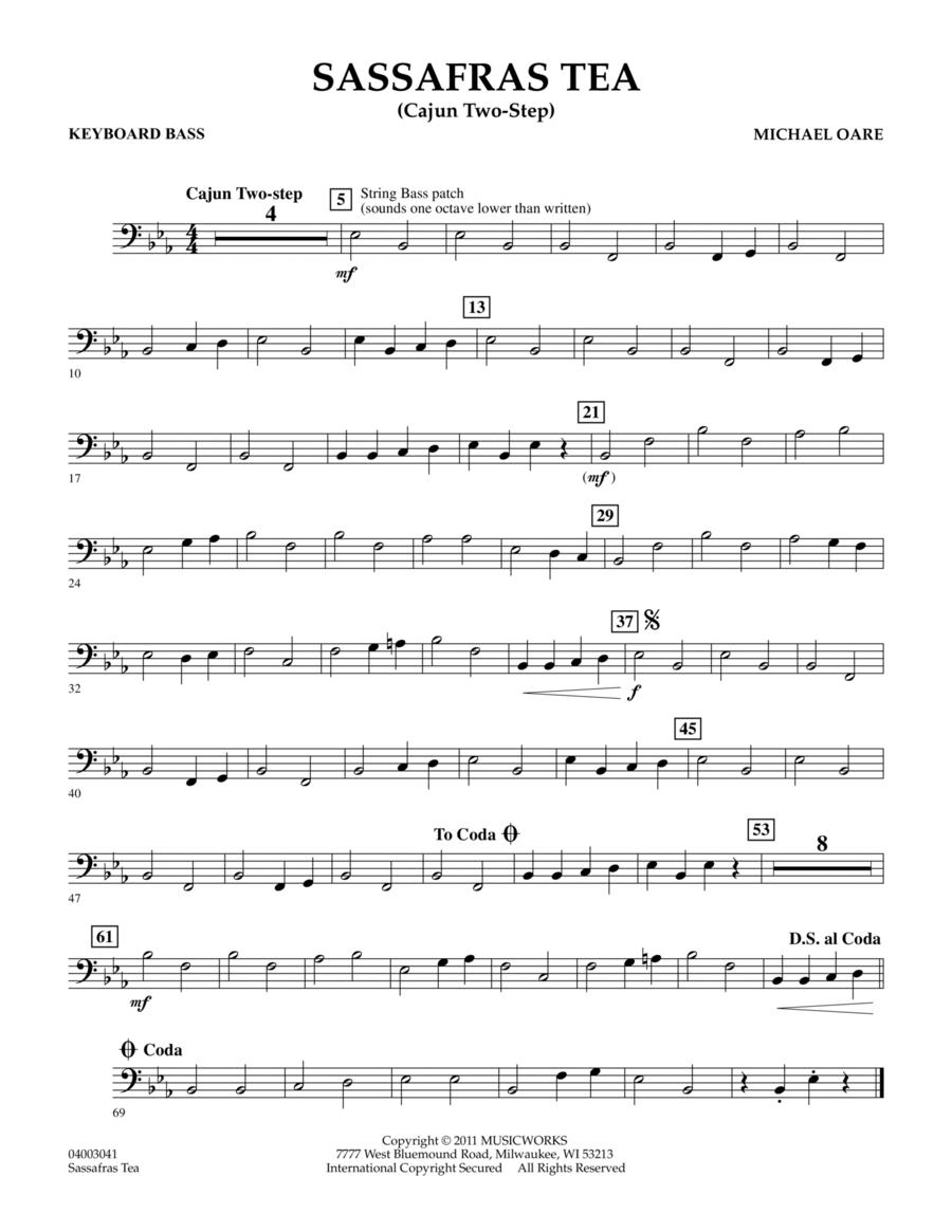 Sassafras Tea (Cajun Two-Step) - Keyboard Bass