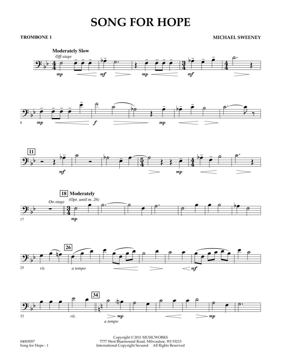 Song For Hope - Trombone 1