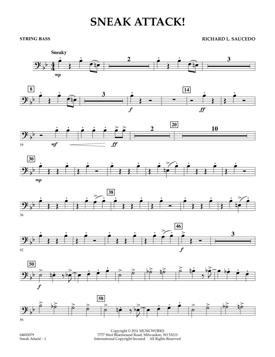 Sneak Attack! - String Bass