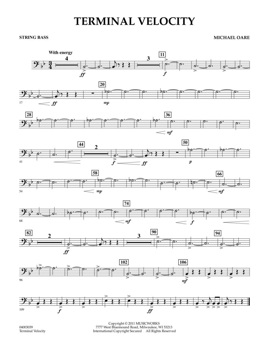 Terminal Velocity - Bass