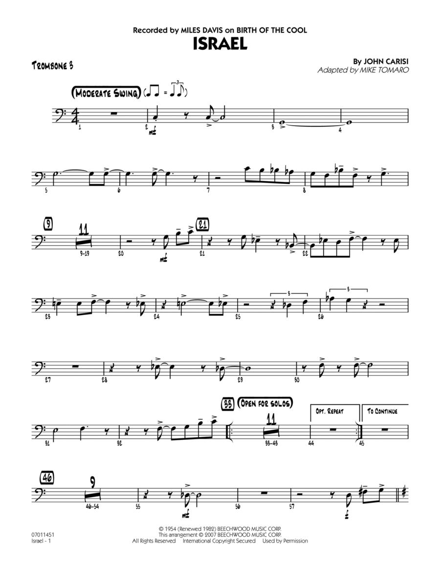 Israel - Trombone 3
