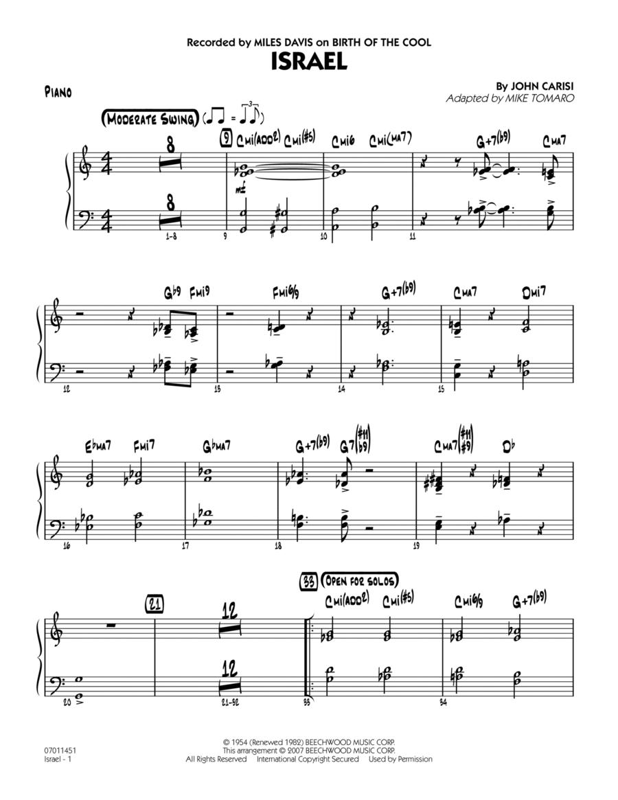 Israel - Piano