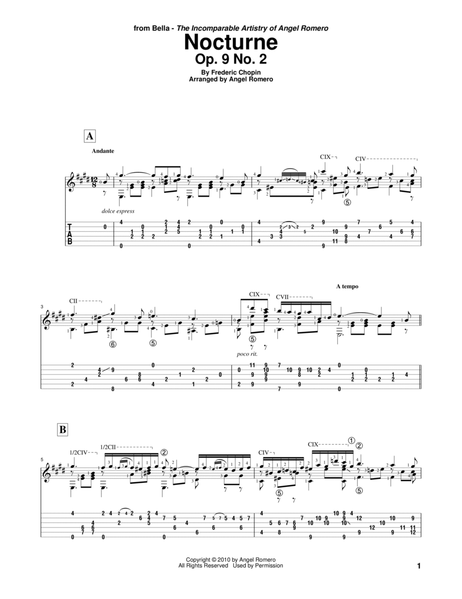 Nocturne, Op. 9 No. 2