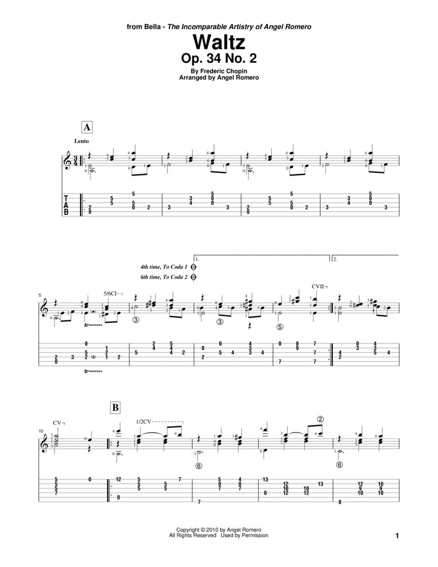 Waltz, Op. 34 No. 2