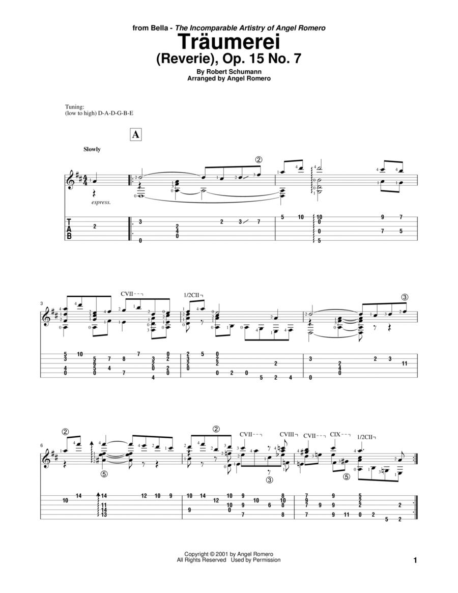 Traumerei (Reverie), Op. 15 No. 7