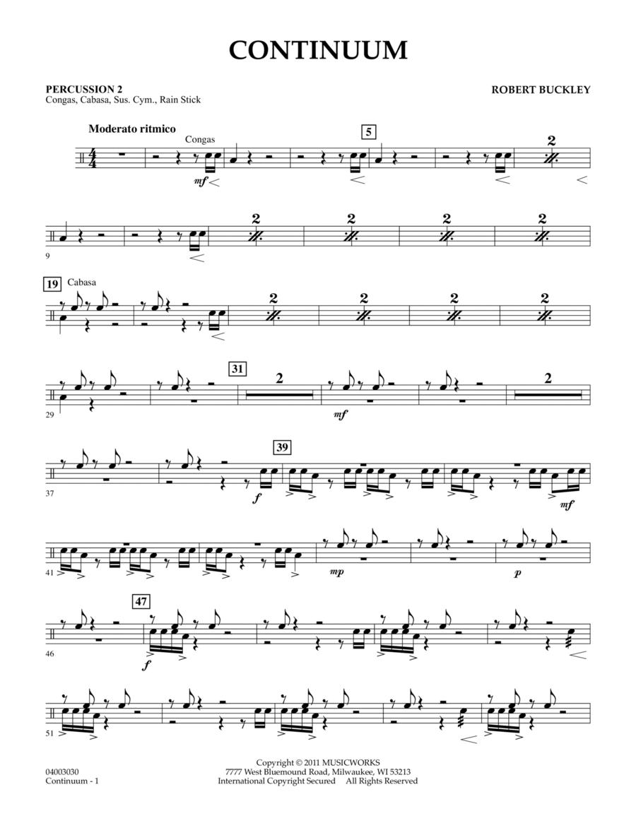 Continuum - Percussion 2