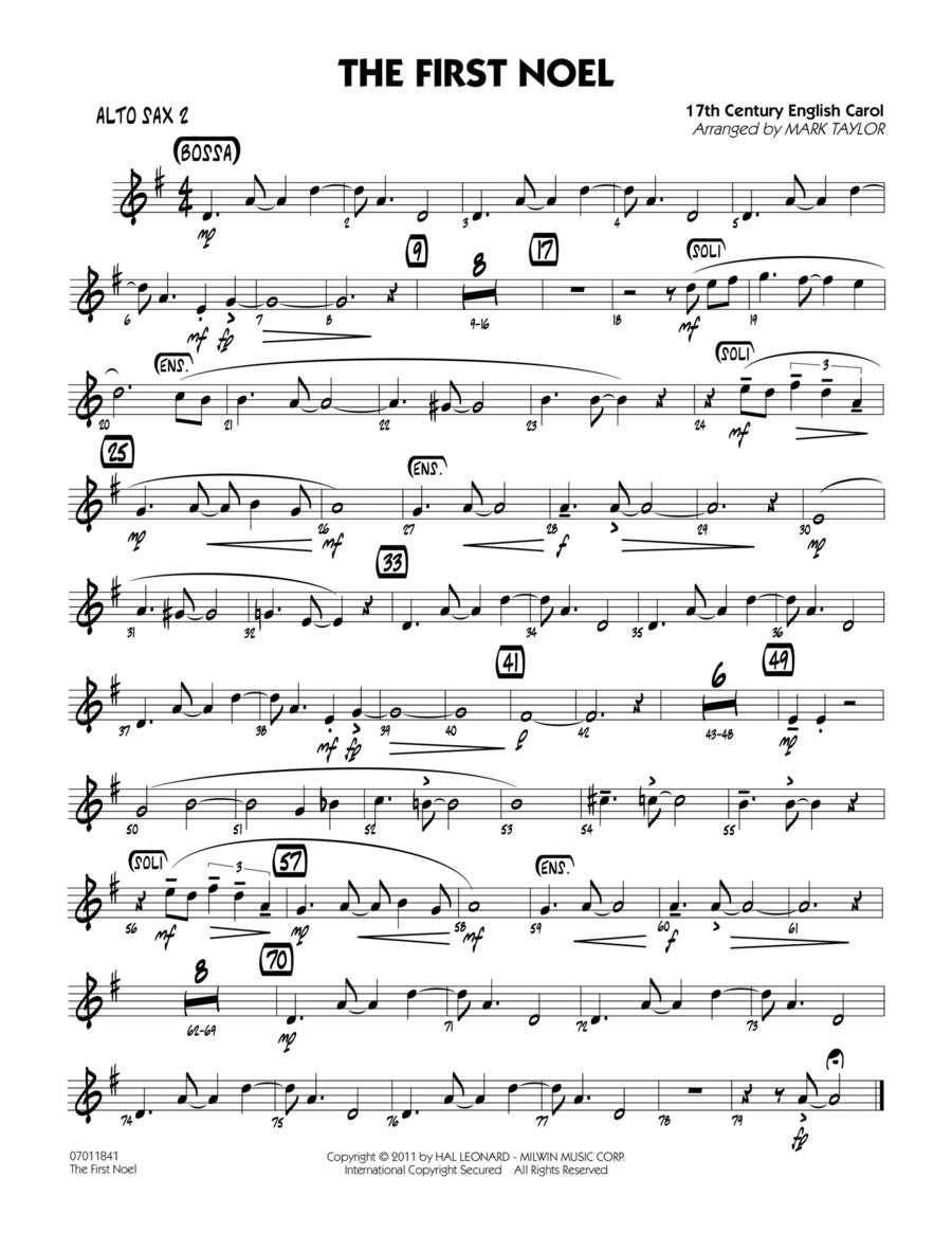 The First Noel - Alto Sax 2