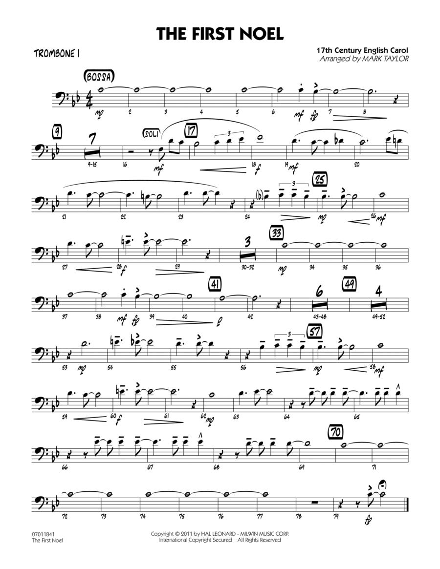 The First Noel - Trombone 1