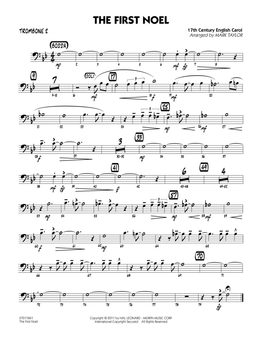 The First Noel - Trombone 2