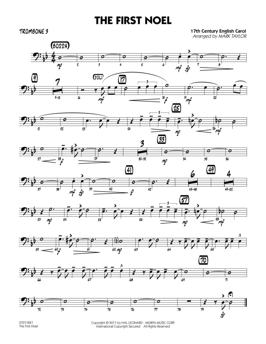 The First Noel - Trombone 3