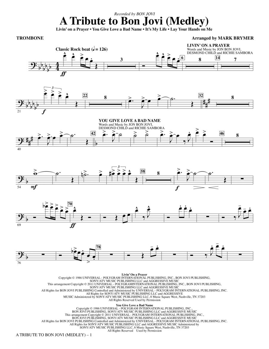 A Tribute To Bon Jovi (Medley) - Trombone