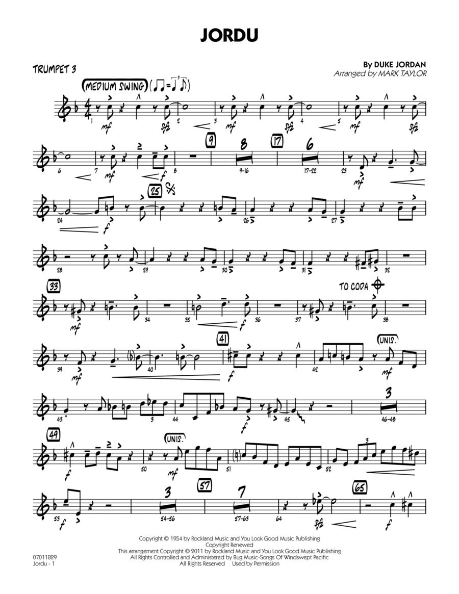 Jordu - Trumpet 3