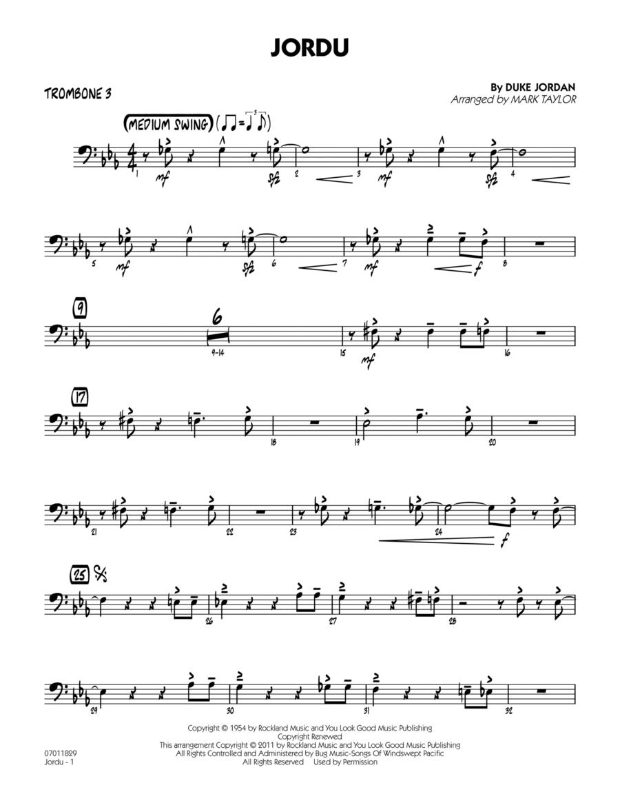 Jordu - Trombone 3