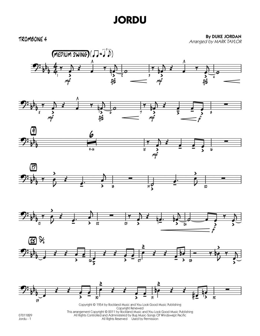 Jordu - Trombone 4