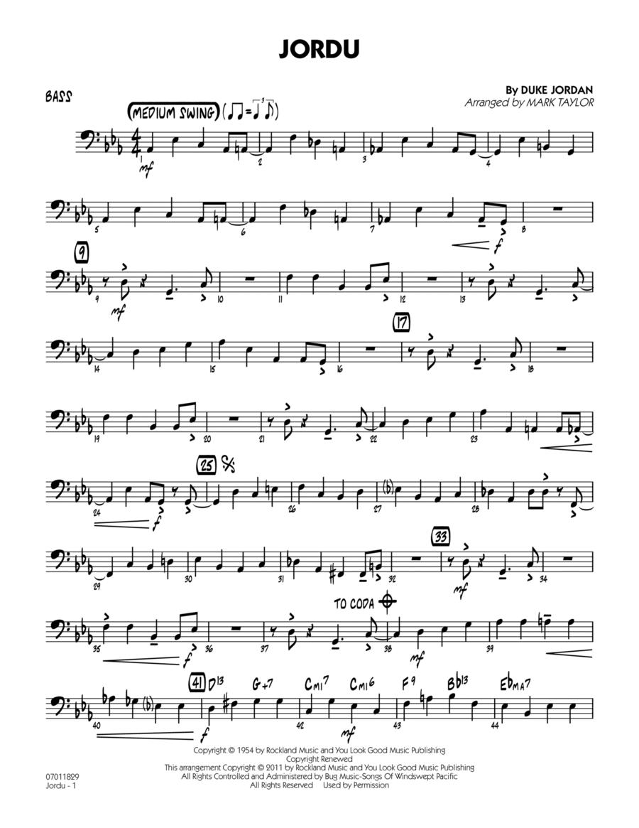 Jordu - Bass