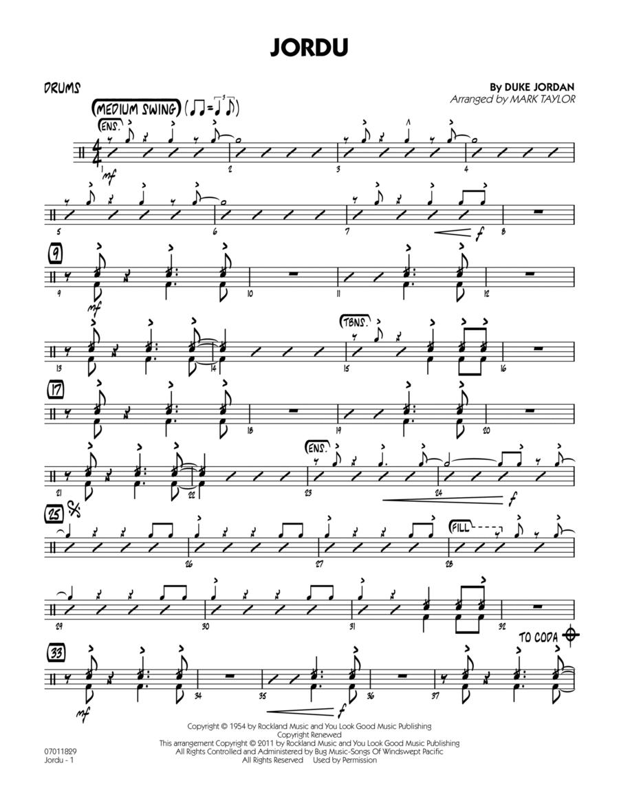 Jordu - Drums