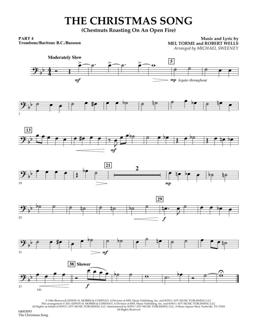 The Christmas Song (Chestnuts Roasting On An Open Fire) - Pt.4: Trombone/Bar. B.C./Bsn.