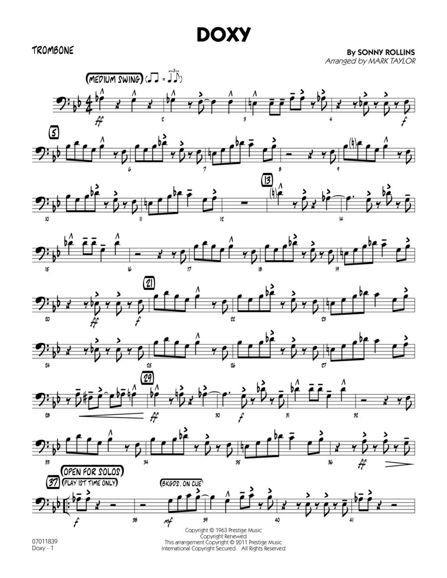 Doxy - Trombone