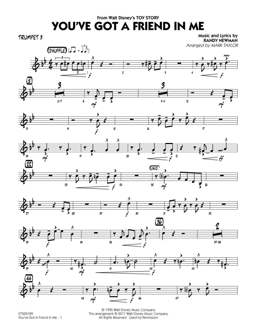 You've Got A Friend In Me - Trumpet 3