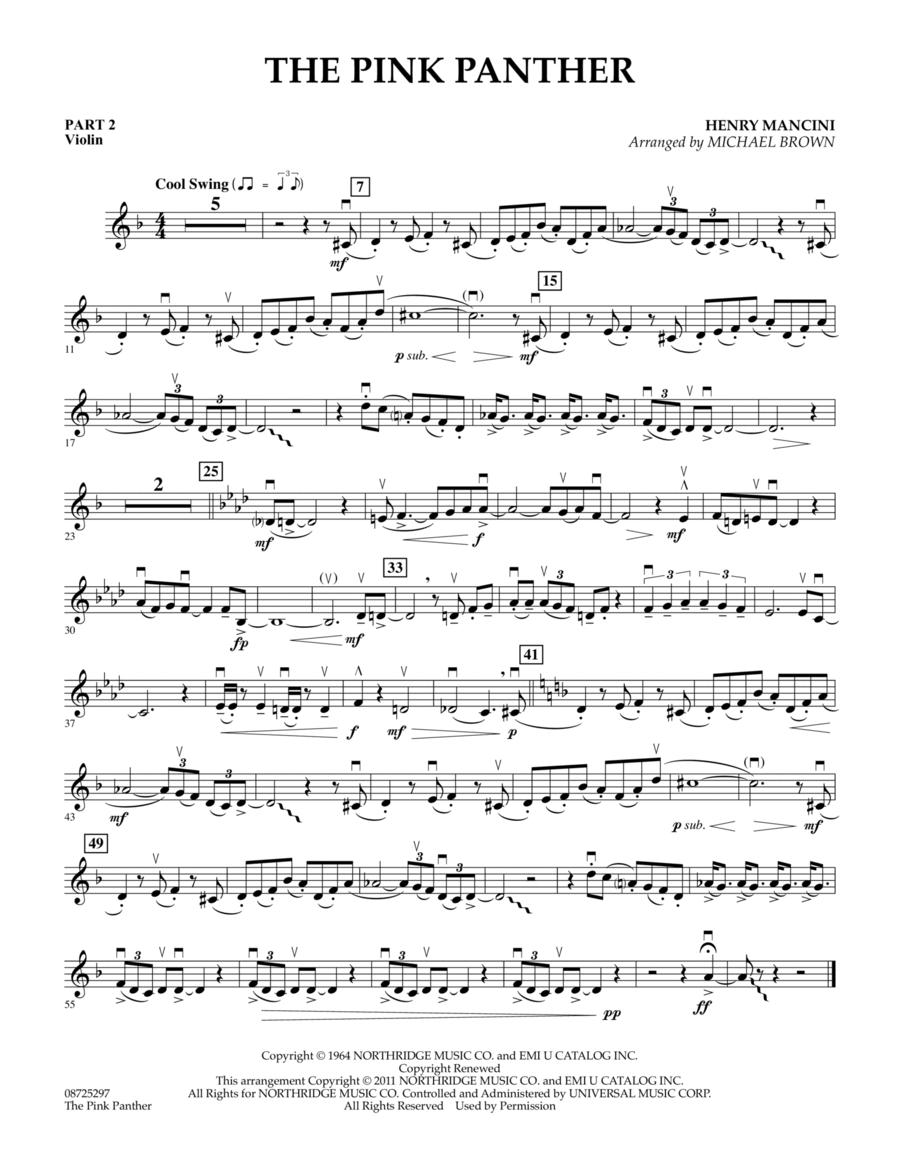 The Pink Panther - Pt.2 - Violin