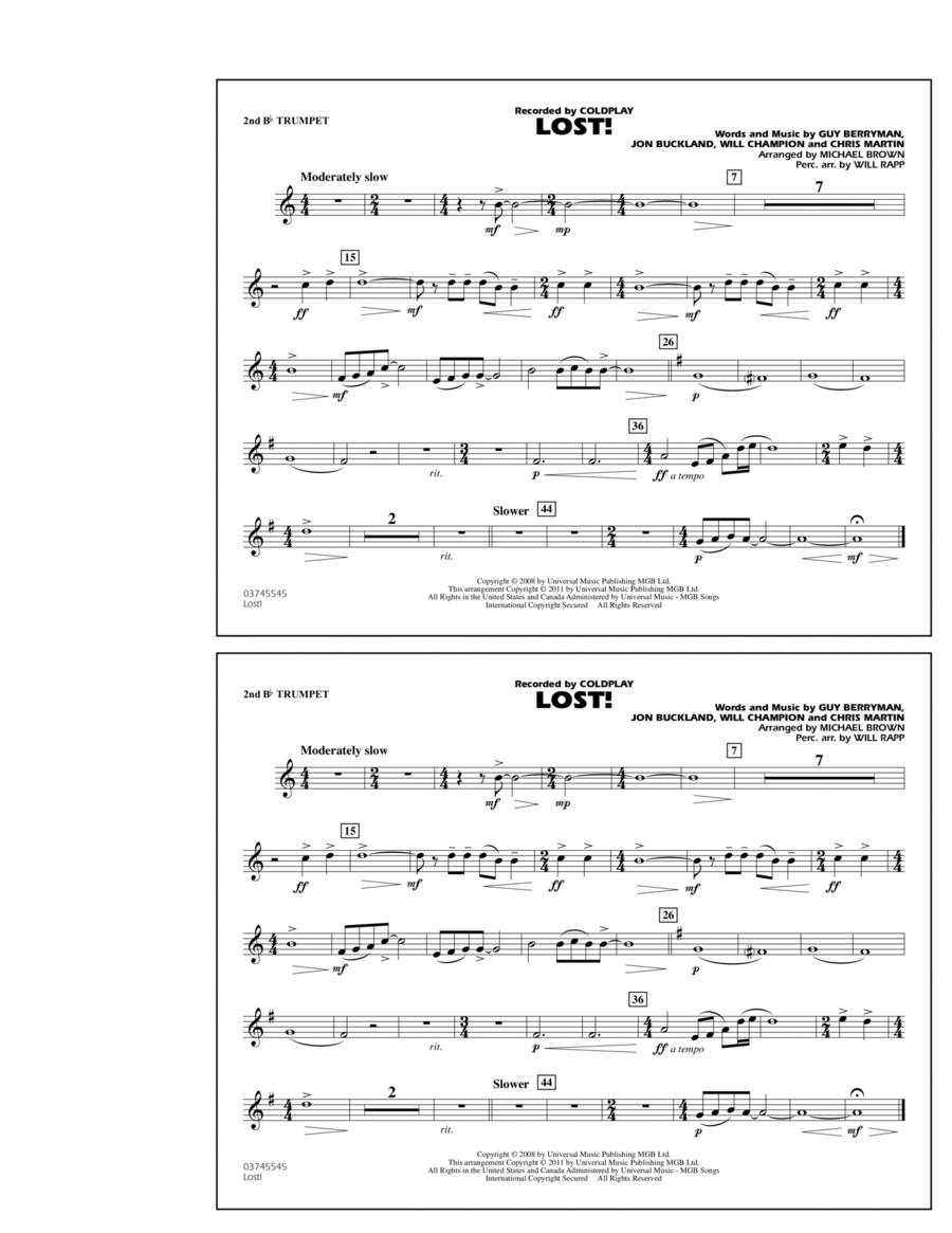 Lost! - 2nd Bb Trumpet
