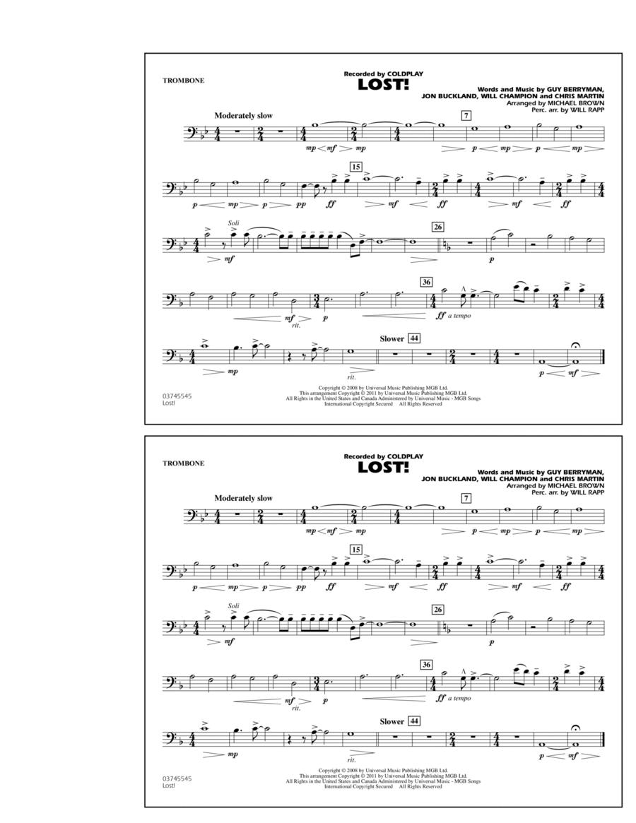 Lost! - Trombone