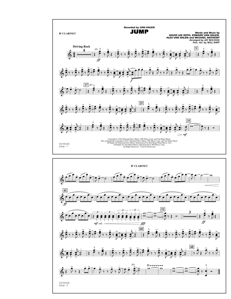 Jump - Bb Clarinet