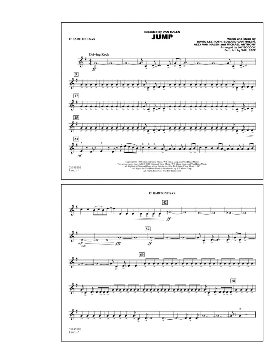 Jump - Eb Baritone Sax