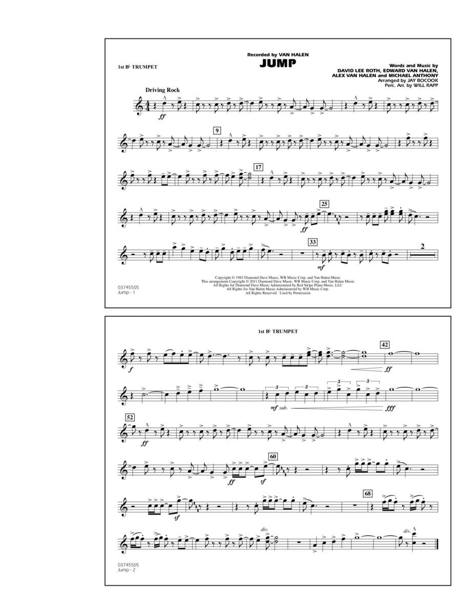 Jump - 1st Bb Trumpet