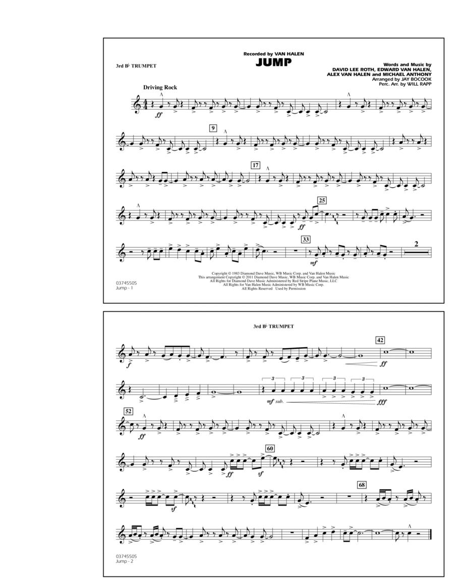 Jump - 3rd Bb Trumpet