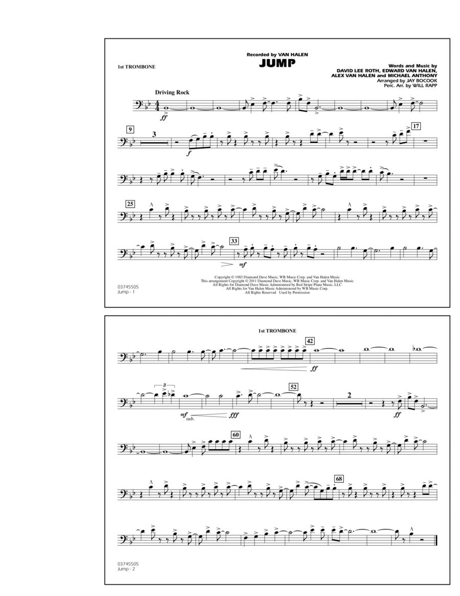 Jump - 1st Trombone