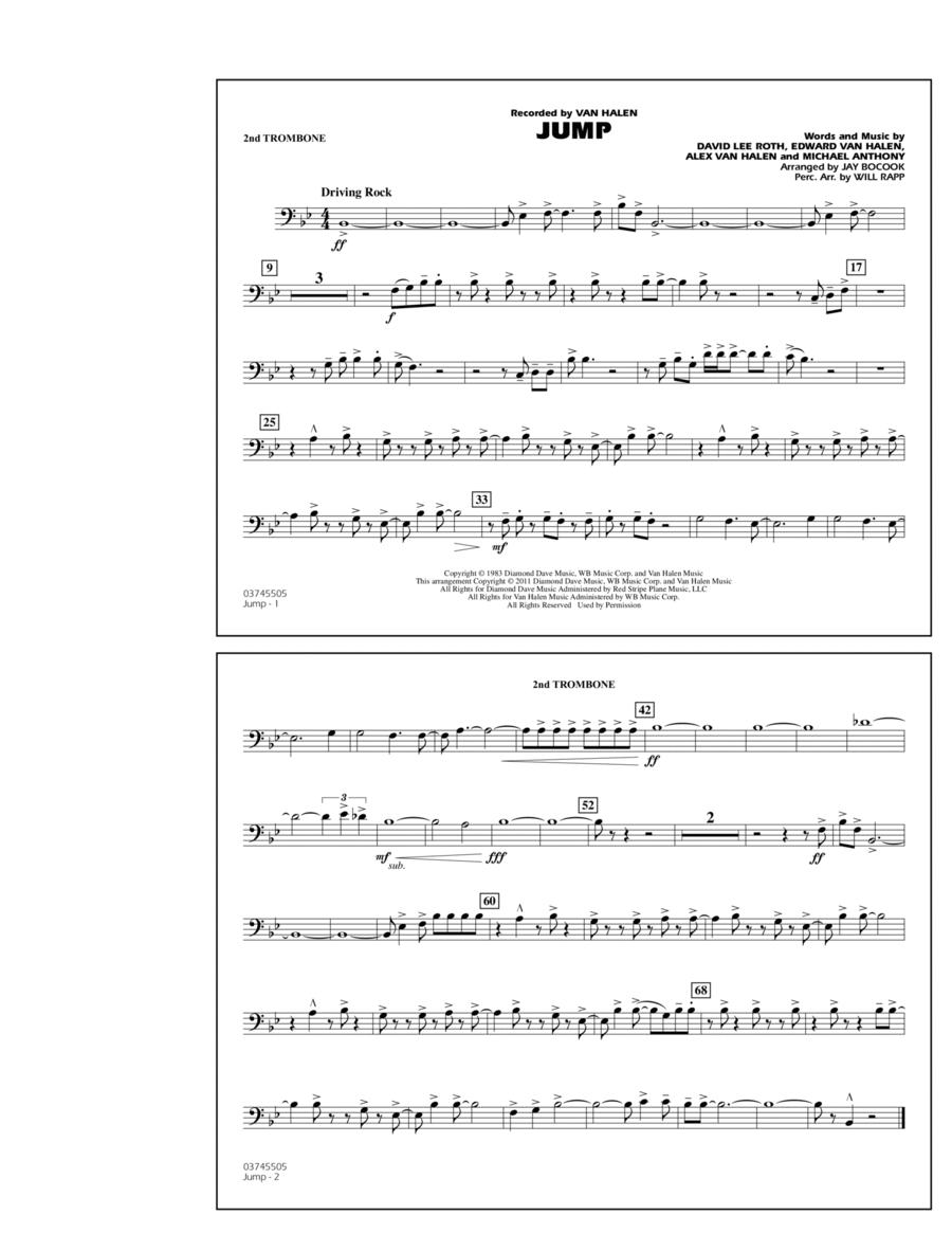 Jump - 2nd Trombone