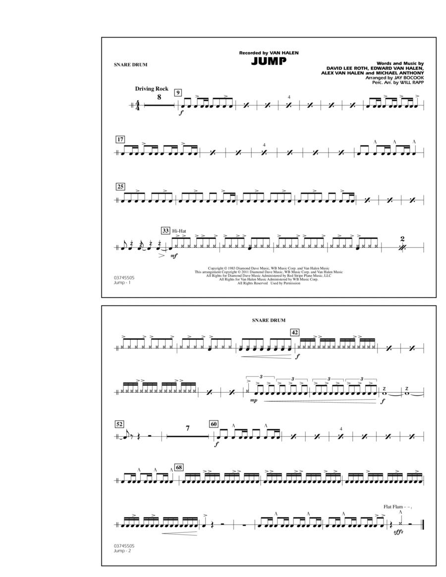 Jump - Snare Drum