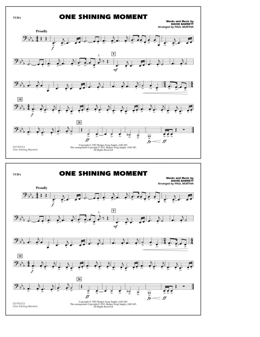 One Shining Moment - Tuba