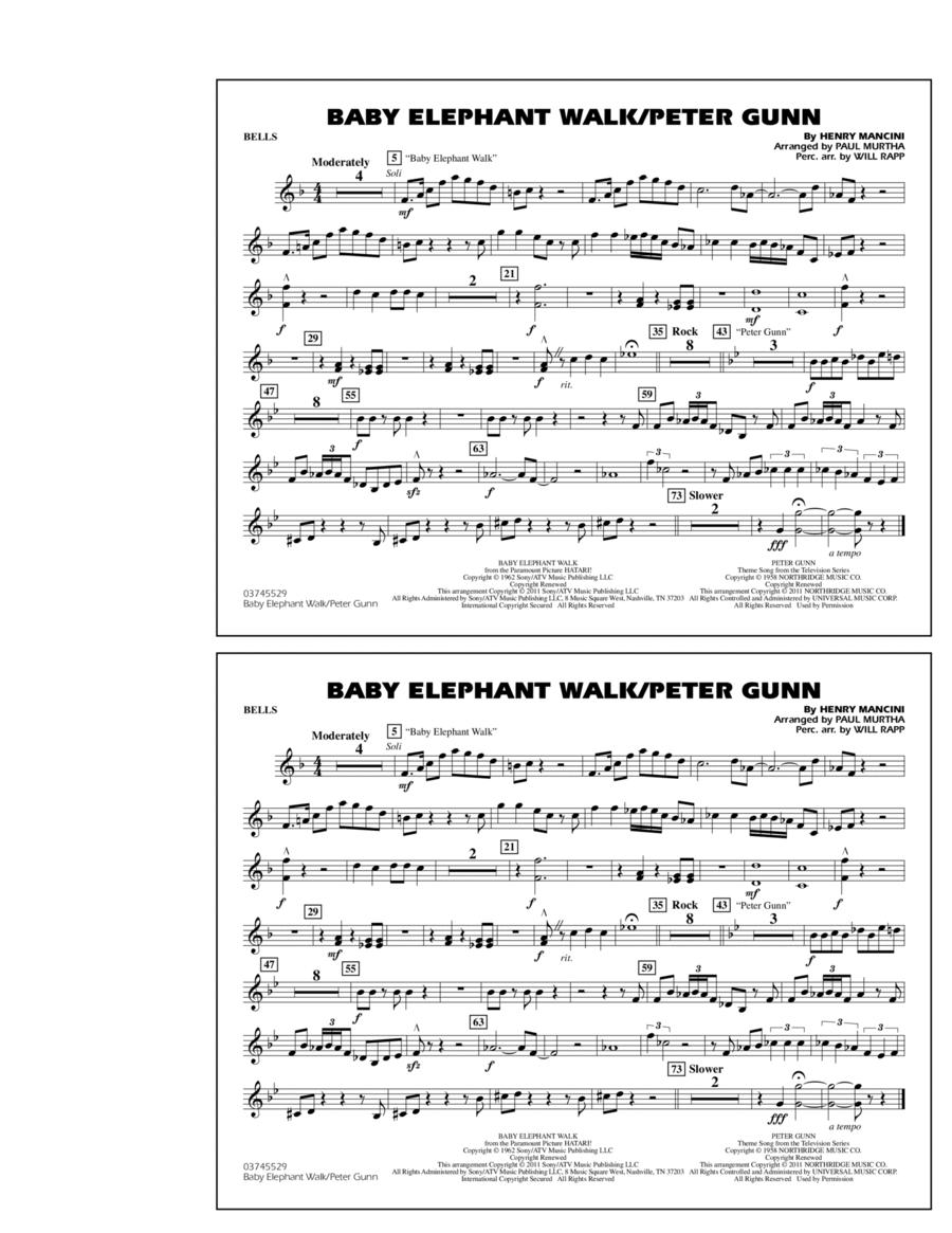 Baby Elephant Walk/Peter Gunn - Bells