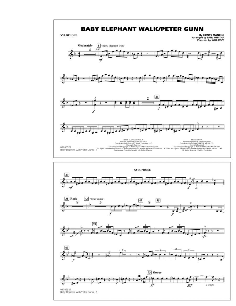 Baby Elephant Walk/Peter Gunn - Xylophone