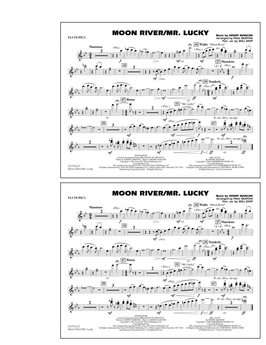 Moon River/Mr. Lucky - Flute/Piccolo