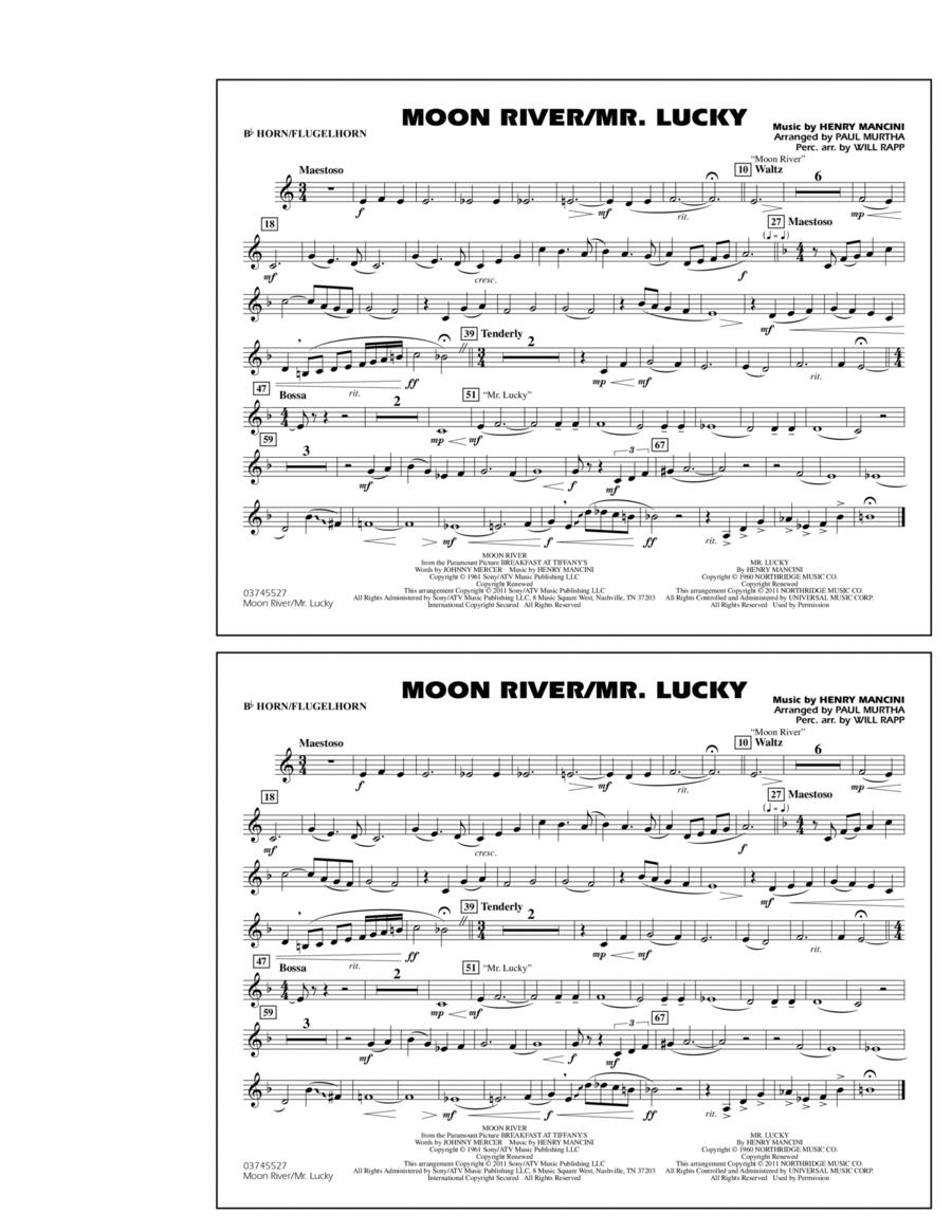 Moon River/Mr. Lucky - Bb Horn/Flugelhorn